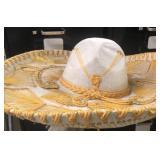 Authentic Vintage Mexican Sombrero