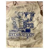 Rare Signed1996 Iditarod  Apron