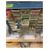 Blue Hardware Organizer