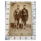 Civil War CDV of 2 Identified Union Army Soldiers