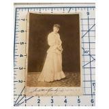 Jessie Florey Actress Silent Film Cabinet Photo