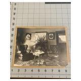 Grandmas Living Room with Plant and Photos