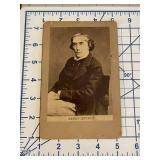 Antique CDV Henry Irving Count Dracula Actor