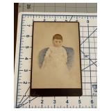 Incredible Colorized CDV of a Baby