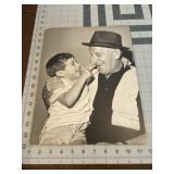 Heartfelt Jimmy Durante Photograph Thick Cardbrd
