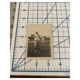 Vintage Kellogg Baseball Player Photograph