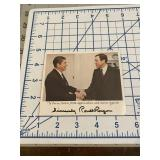 Marker Signed Ronald Reagan Appreciation Photo