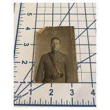 Antique Studio Photograph of American Soldier