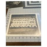 1942 Sporting News Cleveland Indians Team Photo