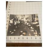 Antique Photo of a Busy Busy Newsroom