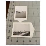 2 Vintage Commercial Airliner Photographs