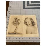 2 Dorothy Lull Hollywood Studio Photographs
