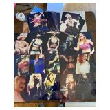 Lot of Popular Female Singers on Photo Paper