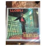 Original LL Cool J Bad Music Store Poster