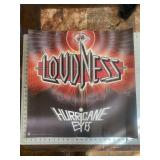 Original Loudness Hurricane Eyes Music  Poster