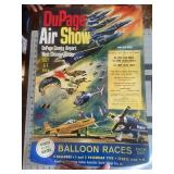 1974 Dupage Air Show Blue Angels & More Poster