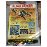 1972 Dupage Airshow Illinois Poster