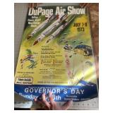 1973 Dupage Illinois Air Show Poster