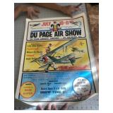 1971 Dupage Illinois Airshow Poster