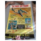 1972 Dupage Illinois Airshow Poster