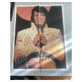 Vintage Elvis Presley King of Rock Poster