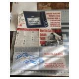 1966 Motors Auto Repair Manual Poster Pamphlet
