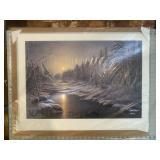 Solstice Winter James Meger Signed #ed Print