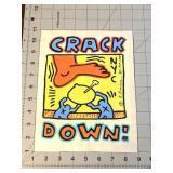 Keith Haring Crackdown Artwork Estate Of