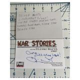 War Stories Oliver North Autographed Card Fox News