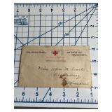 Soldiers Mail Red Cross Identified  Postcard