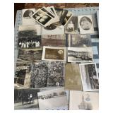 Large Lot of RPPC Real Photo Postcards