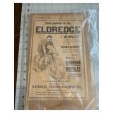 1898 Champion Eldredge Bicycle Broadside
