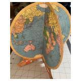 HMG Co 3D Fold Out Cardboard Globe Cardboard