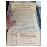 Land Grant 1806 Thomas Jefferson to Soldier