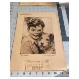 Erie Dispatch Herald Vintage Calendar