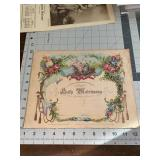 Antique Holy Matrimony Marriage Certificate