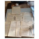 Huge Vintage Lot Charles Atlas Physique Paperwork