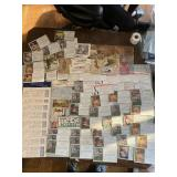 Huge Lot of Advertising Cards and Blotters ETC