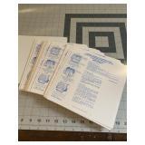 Huge lot of Applicant FBI Fingerprint Cards