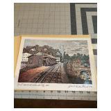 Nice artwork B and O Terminal Railroad Artwork