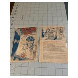 Lot of 2 Wartime Brochures Dorothy Dix