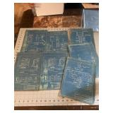 Nice lot of CO Railroad Blueprints Schematic