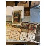 Religious and Funeral Related Calendars