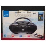 Stereo Boombox Bluetooth