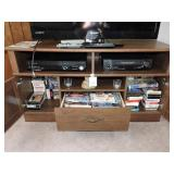 TV Stand & Contents