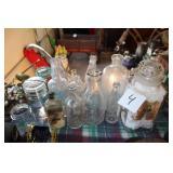 Antique Bottles & Tins