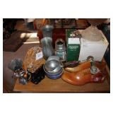Assorted Glass & Stand