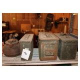 Ammo Cans & Kettle