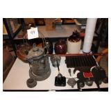Cast Iron, Stoneware & More