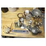 Assorted Pewter & More